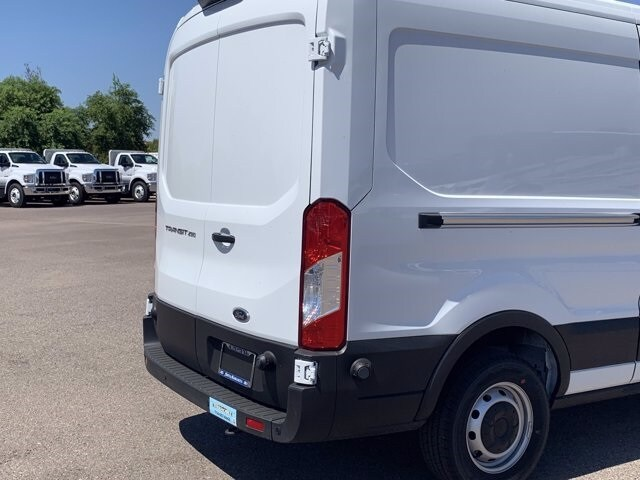 2019 Ford Transit 250 Med Roof RWD, Thermo King Refrigerated Body #KKB39239 - photo 9