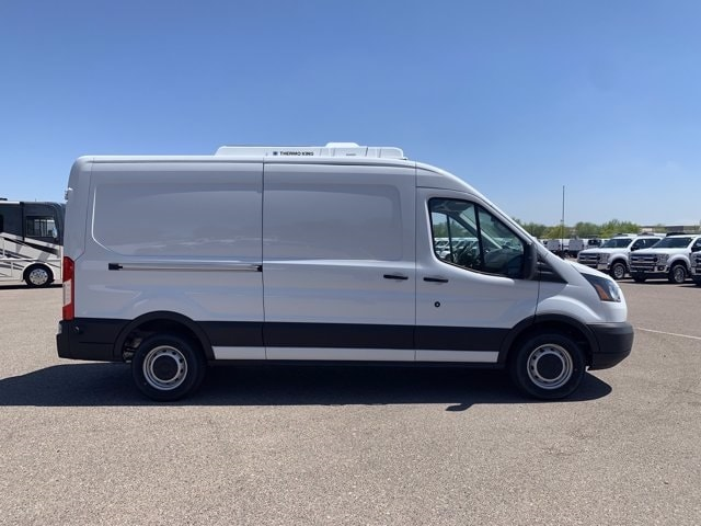 2019 Ford Transit 250 Med Roof RWD, Thermo King Refrigerated Body #KKB39239 - photo 5