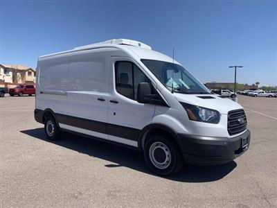 2019 Ford Transit 250 Med Roof RWD, Thermo King Refrigerated Body #KKB39239 - photo 4