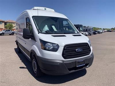 2019 Ford Transit 250 Med Roof RWD, Thermo King Refrigerated Body #KKB39239 - photo 1
