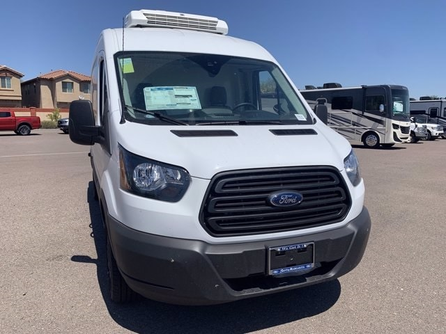 2019 Ford Transit 250 Med Roof RWD, Thermo King Refrigerated Body #KKB73161 - photo 4
