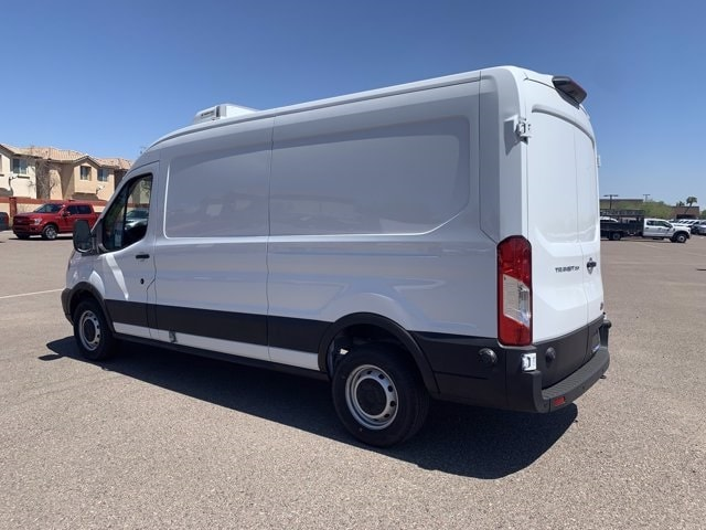 2019 Ford Transit 250 Med Roof RWD, Thermo King Refrigerated Body #KKB73161 - photo 8