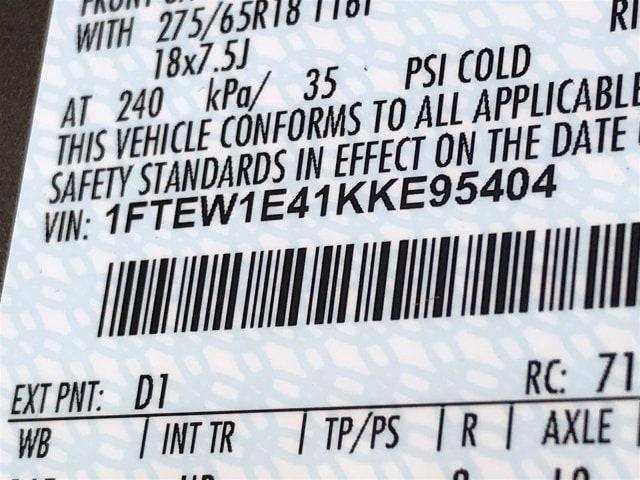 2019 F-150 SuperCrew Cab 4x4, Pickup #KKE95404 - photo 11