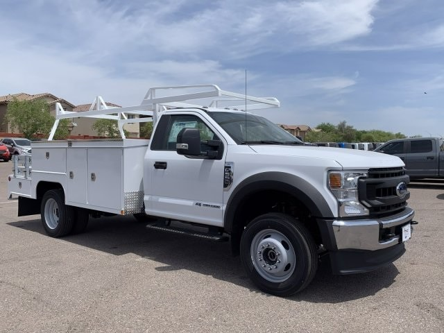 2020 F-550 Regular Cab DRW 4x4, Scelzi SEC Combo Body #LDA03925 - photo 1