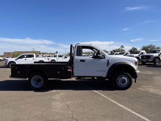 2020 Ford F-450 Regular Cab DRW 4x4, Hillsboro Platform Body #LDA04741 - photo 4