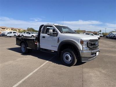 2020 Ford F-450 Regular Cab DRW 4x4, Hillsboro Platform Body #LDA04741 - photo 1
