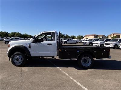2020 Ford F-450 Regular Cab DRW 4x4, Hillsboro Platform Body #LDA04741 - photo 5