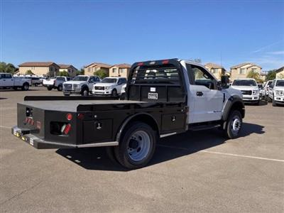 2020 Ford F-450 Regular Cab DRW 4x4, Hillsboro Platform Body #LDA04741 - photo 2