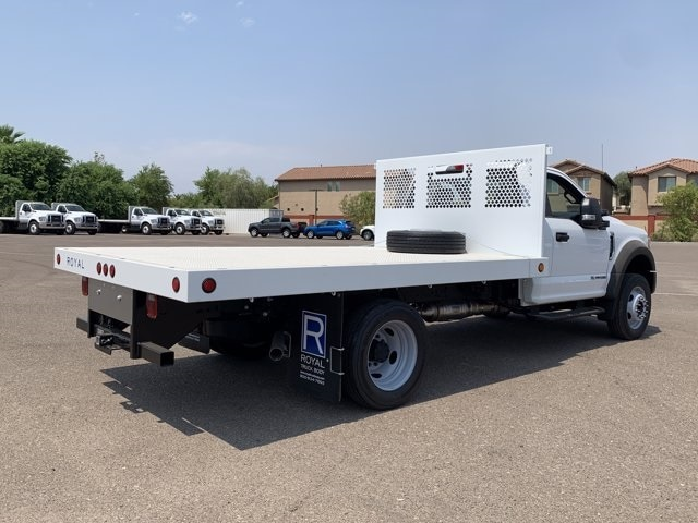 2020 Ford F-550 Regular Cab DRW 4x2, Royal Truck Body Platform Body #LDA04794 - photo 1