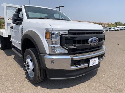 2020 Ford F-550 Regular Cab DRW 4x2, Royal Truck Body Platform Body #LDA04794 - photo 3