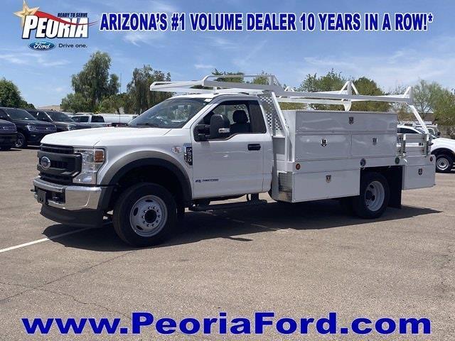 2020 Ford F-450 Regular Cab DRW 4x2, Scelzi Combo Body #LDA04828 - photo 1
