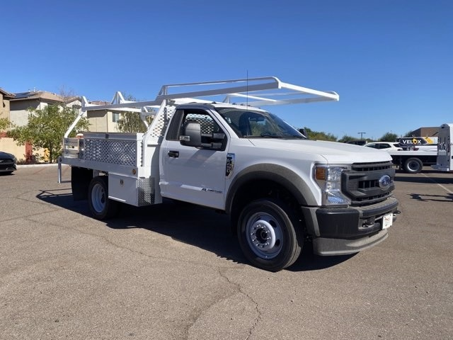 2020 Ford F-450 Regular Cab DRW 4x4, Scelzi Contractor Body #LDA05863 - photo 1