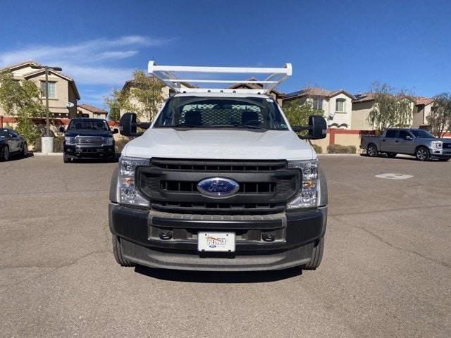 2020 Ford F-450 Regular Cab DRW 4x4, Scelzi CTFB Contractor Body #LDA05863 - photo 3