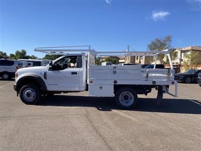 2020 Ford F-450 Regular Cab DRW 4x4, Scelzi CTFB Contractor Body #LDA05863 - photo 5