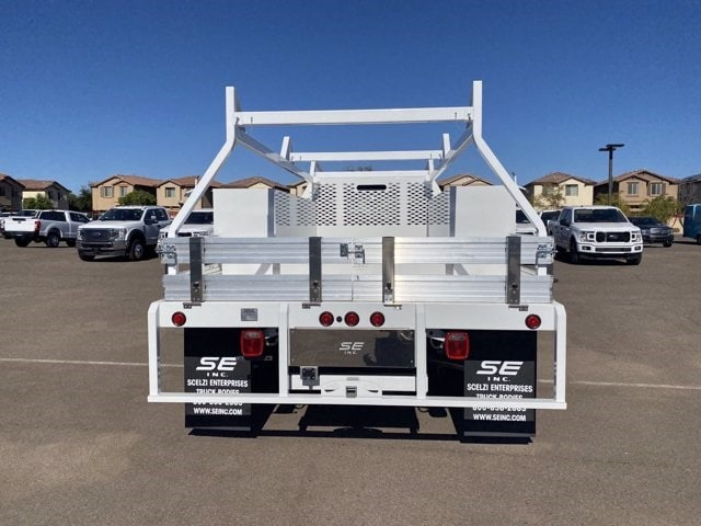 2020 Ford F-550 Regular Cab DRW 4x4, Scelzi SCTFB Contractor Body #LDA07888 - photo 9