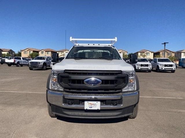 2020 Ford F-550 Regular Cab DRW 4x4, Scelzi SCTFB Contractor Body #LDA07888 - photo 3