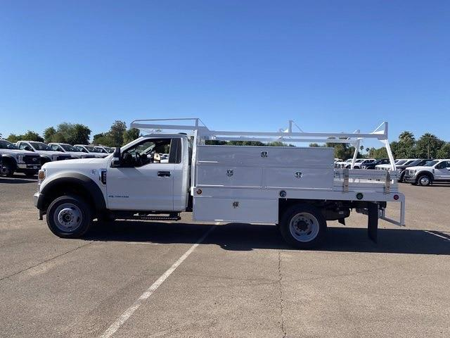 2020 Ford F-550 Regular Cab DRW 4x4, Scelzi SCTFB Contractor Body #LDA07888 - photo 5