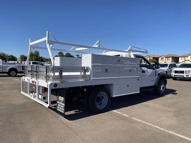 2020 Ford F-550 Regular Cab DRW 4x4, Scelzi Contractor Body #LDA07888 - photo 1