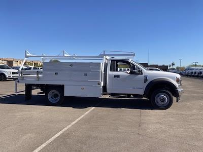 2020 Ford F-550 Regular Cab DRW 4x4, Scelzi SCTFB Contractor Body #LDA07888 - photo 4