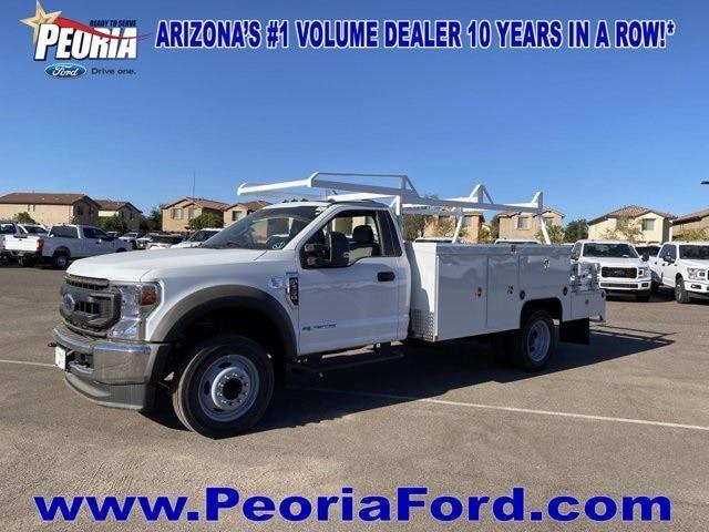 2020 Ford F-550 Regular Cab DRW 4x4, Scelzi SEC Combo Body #LDA07980 - photo 1