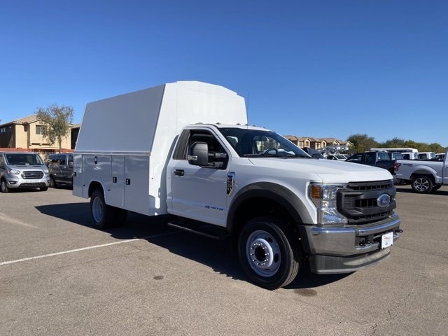 2020 Ford F-550 Regular Cab DRW 4x2, Knapheide Service Body #LDA09217 - photo 1
