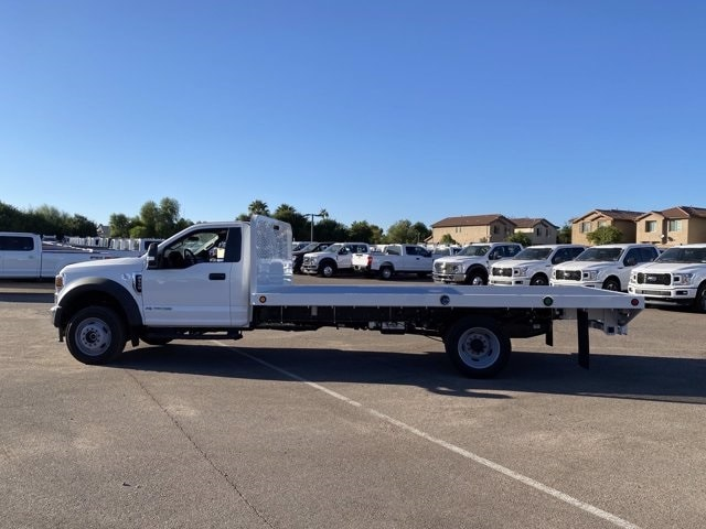 2020 Ford F-550 Regular Cab DRW 4x4, Scelzi SFB Platform Body #LDA09276 - photo 5