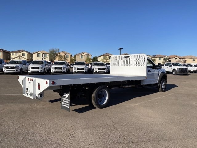 2020 Ford F-550 Regular Cab DRW 4x4, Scelzi SFB Platform Body #LDA09276 - photo 2