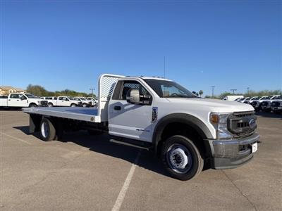 2020 Ford F-550 Regular Cab DRW 4x4, Scelzi SFB Platform Body #LDA09276 - photo 1