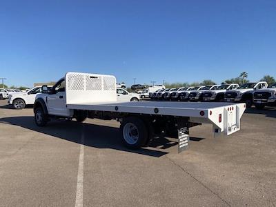 2020 Ford F-550 Regular Cab DRW 4x4, Scelzi SFB Platform Body #LDA09276 - photo 7