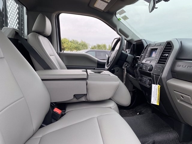2020 Ford F-550 Regular Cab DRW 4x4, Monroe Work-A-Hauler II Platform Body #LDA09594 - photo 11