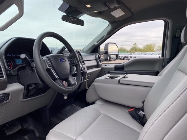 2020 Ford F-550 Regular Cab DRW 4x4, Monroe Work-A-Hauler II Platform Body #LDA09594 - photo 12