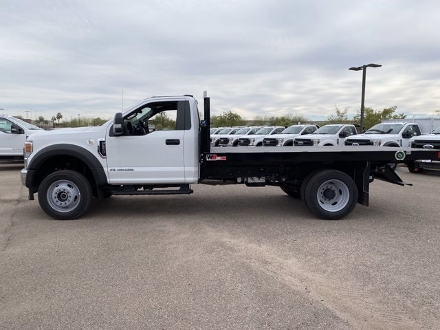 2020 Ford F-550 Regular Cab DRW 4x4, Monroe Work-A-Hauler II Platform Body #LDA09594 - photo 5