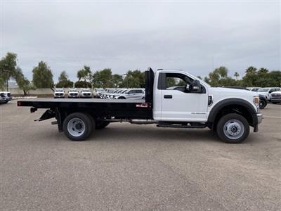 2020 Ford F-550 Regular Cab DRW 4x4, Monroe Work-A-Hauler II Platform Body #LDA09594 - photo 4