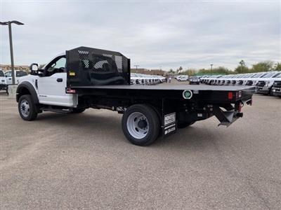 2020 Ford F-550 Regular Cab DRW 4x4, Monroe Work-A-Hauler II Platform Body #LDA09594 - photo 7