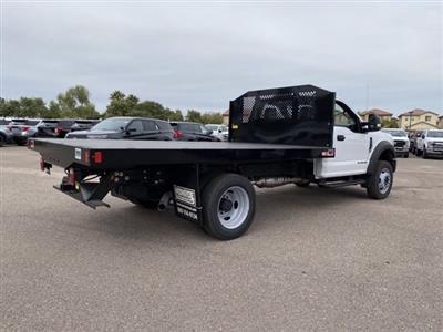2020 Ford F-550 Regular Cab DRW 4x4, Monroe Work-A-Hauler II Platform Body #LDA09594 - photo 2