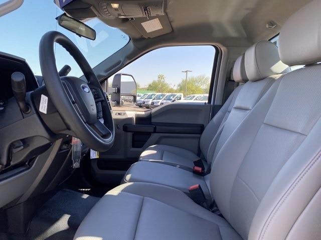 2020 Ford F-550 Regular Cab DRW 4x4, Hillsboro Platform Body #LDA09598 - photo 13