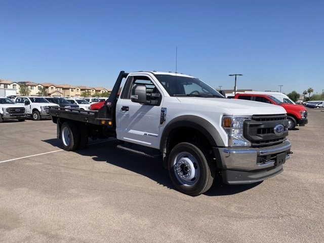 2020 Ford F-550 Regular Cab DRW 4x4, Hillsboro Platform Body #LDA09598 - photo 1