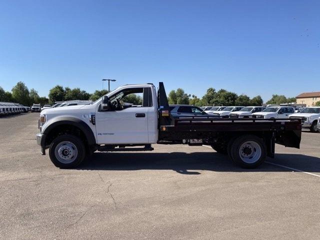 2020 Ford F-550 Regular Cab DRW 4x4, Hillsboro Platform Body #LDA09598 - photo 5