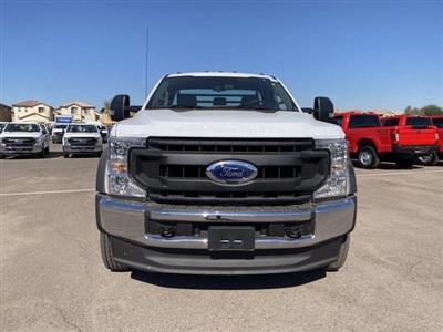 2020 Ford F-550 Regular Cab DRW 4x4, Hillsboro Platform Body #LDA09598 - photo 3