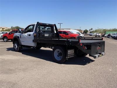2020 Ford F-550 Regular Cab DRW 4x4, Hillsboro Platform Body #LDA09598 - photo 7