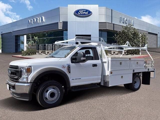 2020 Ford F-450 Regular Cab DRW 4x2, Scelzi Contractor Body #LDA09634 - photo 1