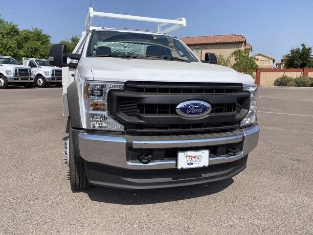2020 Ford F-450 Regular Cab DRW 4x2, Scelzi CTFB Contractor Body #LDA09634 - photo 4