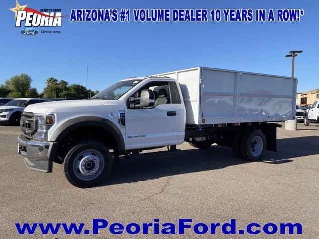 2020 Ford F-550 Regular Cab DRW 4x2, Scelzi Landscape Dump #LDA09638 - photo 1