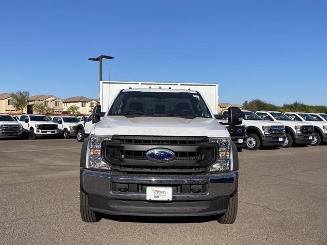 2020 Ford F-550 Regular Cab DRW 4x2, Scelzi Landscape Dump #LDA09638 - photo 3