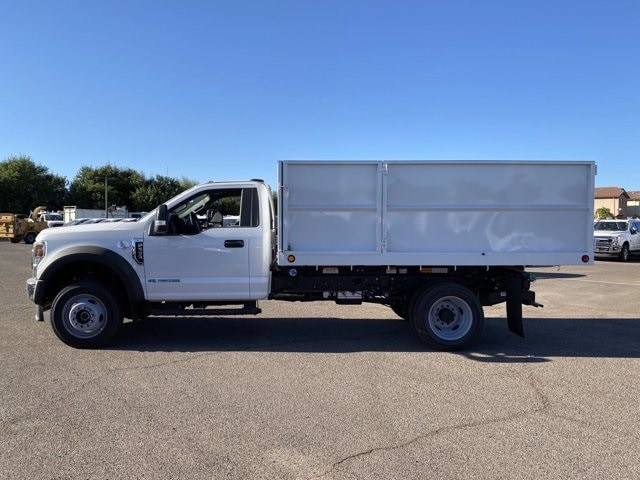 2020 Ford F-550 Regular Cab DRW 4x2, Scelzi Landscape Dump #LDA09638 - photo 5