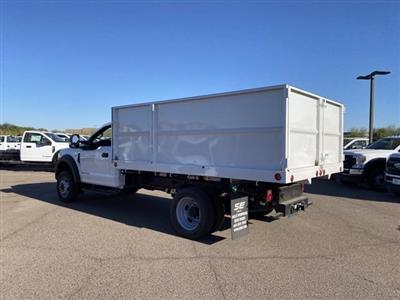 2020 Ford F-550 Regular Cab DRW 4x2, Scelzi Landscape Dump #LDA09638 - photo 7