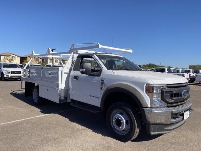 2020 Ford F-550 Regular Cab DRW 4x2, Scelzi CTFB Contractor Body #LDA09640 - photo 1