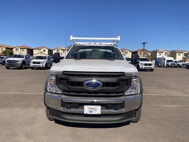 2020 Ford F-550 Regular Cab DRW 4x2, Scelzi CTFB Contractor Body #LDA09640 - photo 3