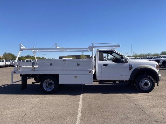 2020 Ford F-550 Regular Cab DRW 4x2, Scelzi CTFB Contractor Body #LDA09640 - photo 4