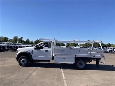 2020 Ford F-550 Regular Cab DRW 4x2, Scelzi CTFB Contractor Body #LDA09640 - photo 5